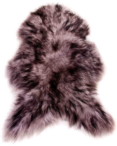 Single Icelandic Sheepskin Rug Silver