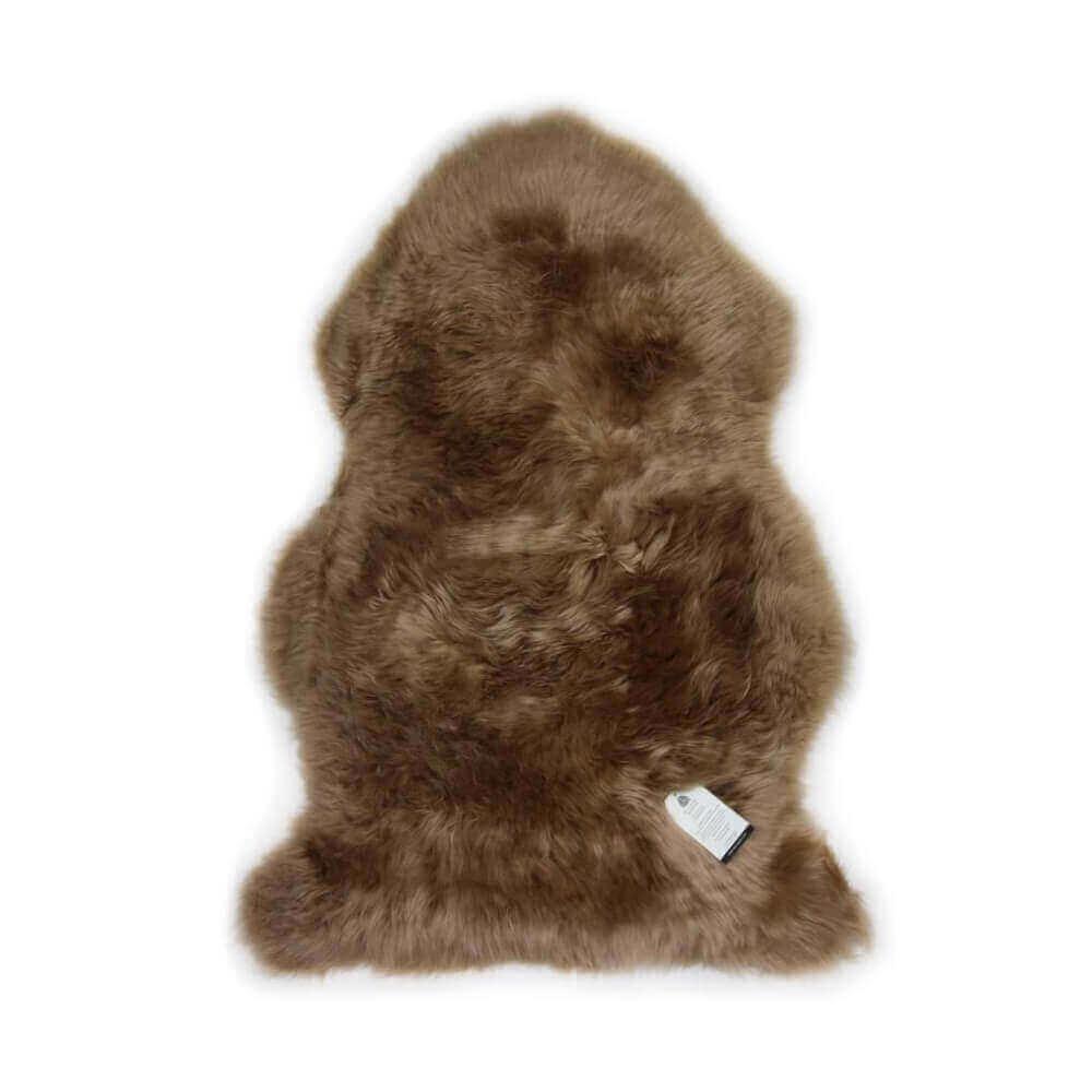 New Zealand Single Sheepskin Rug Dark Beige
