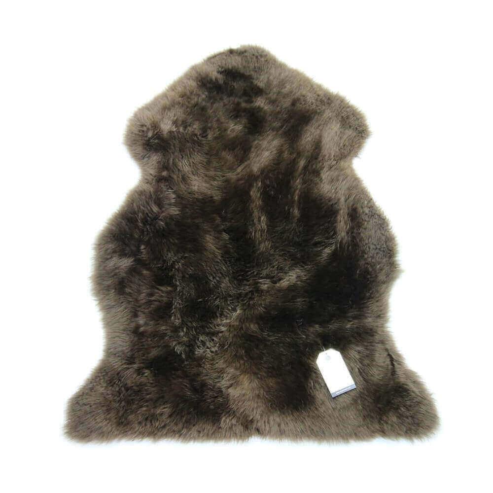 New Zealand Single Sheepskin Rug Brown