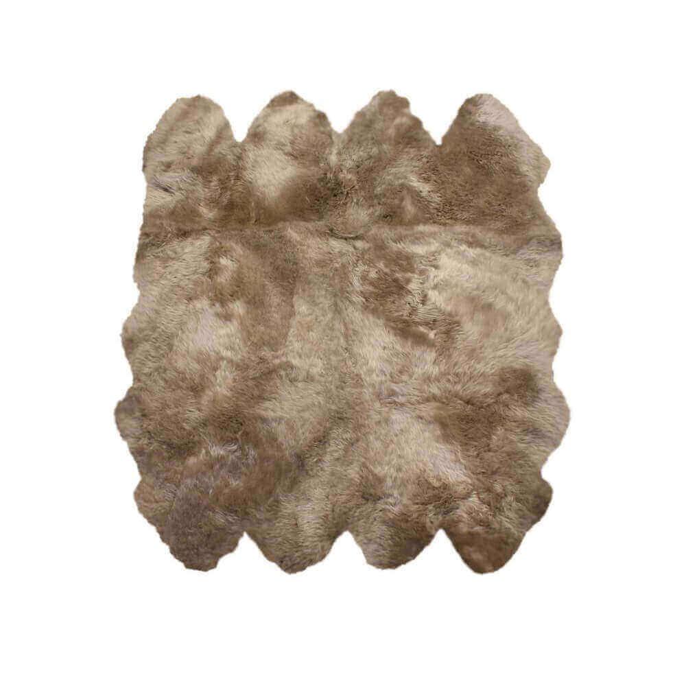 Extra Large Octo Sheepskin Rug Taupe